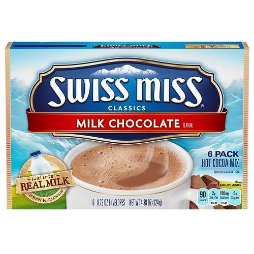 Swiss Miss Milk Chocolate Cocoa Mix 124g