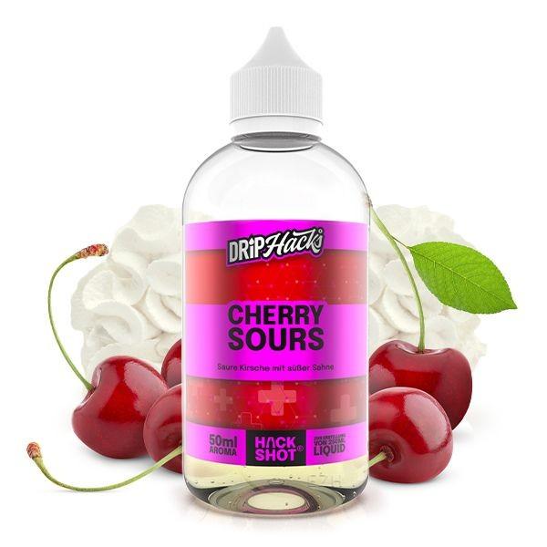Drip Hacks - Cherry Sours 50ml Longfill Aroma