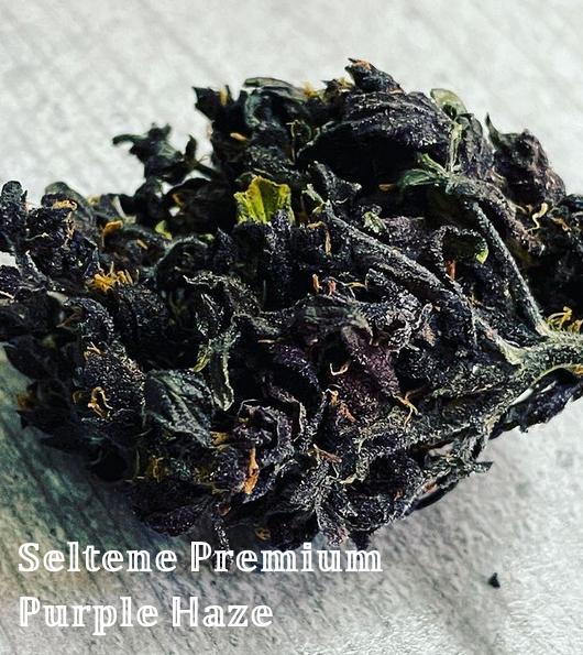 740Greens - Seltene Premium Purple Haze CBD Blütenglas