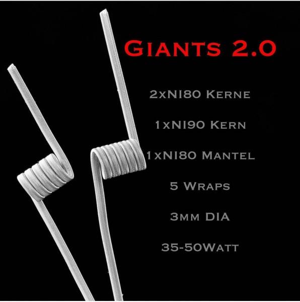 Joker Coil's - Giants 2.0 NI80/NI90