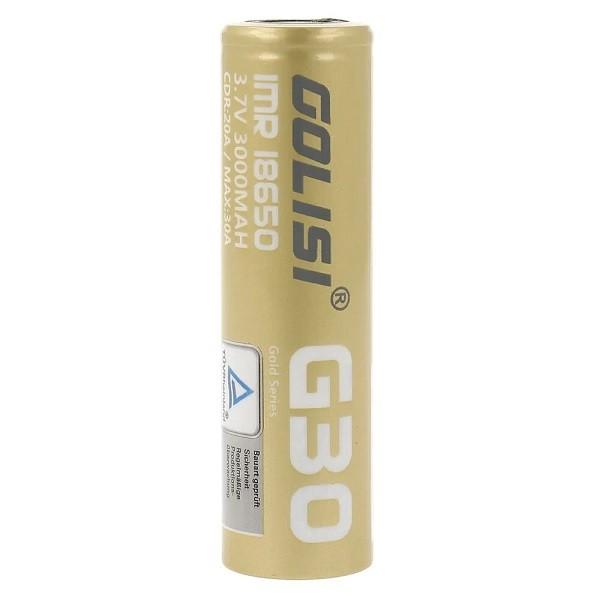 Golisi G30 18650 20A 3000mAh Akku