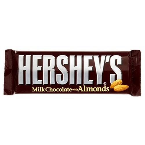 Hershey´s Milk Chocolate Bar with Almond US 41g
