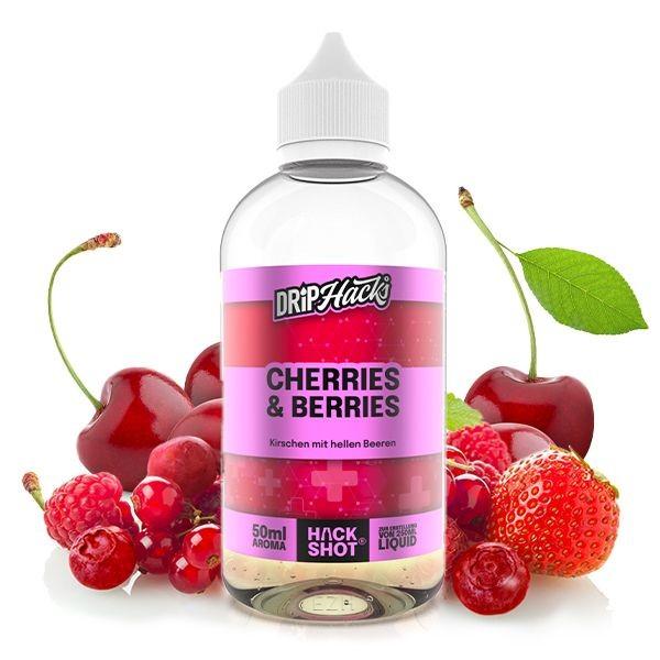 Drip Hacks - Cherries & Berries 50ml Longfill Aroma