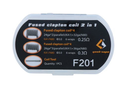 GeekVape Fused Clapton Coil 2 in 1 F201