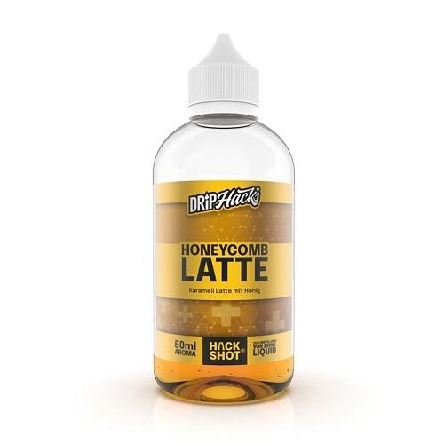 Drip Hacks - Honeycomb Latte 50ml Longfill Aroma