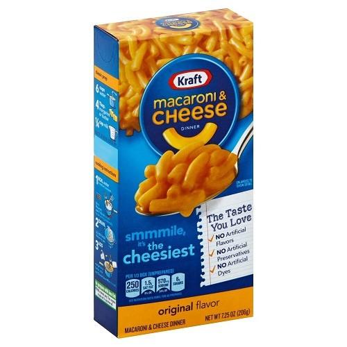 Kraft Macaroni and Cheese 206g