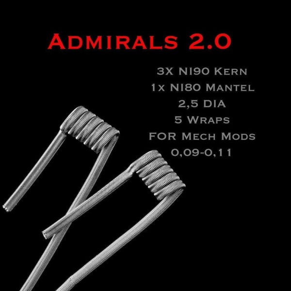 Joker Coil's - Admirals 2.0 NI90/NI80