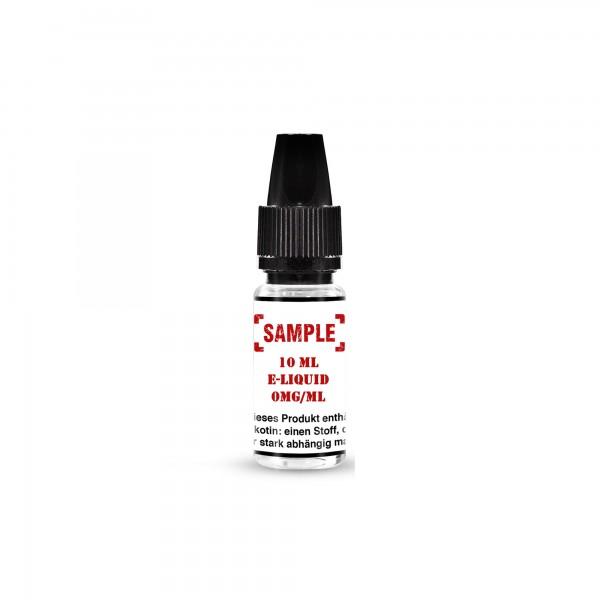 Sample - 10ml Eliquid 0mg/ml