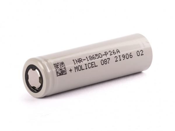 Molicel INR 18650 P26A 2600mah 35A Akku