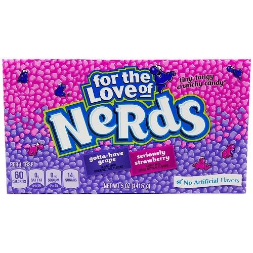 Wonka Strawberry Grape Nerds Theatre Box 141g