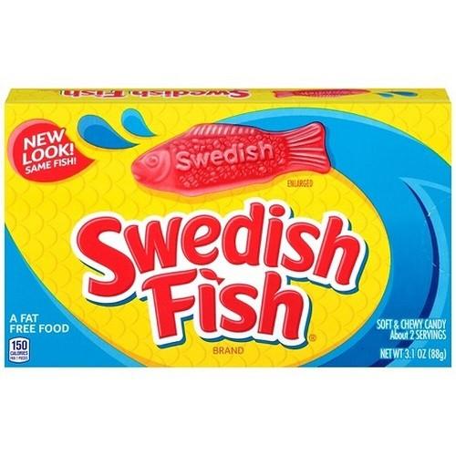 Swedish Fish RED Theatre Box 88g